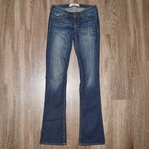 Like New Hollister Low Rise Stretch Jeans Pants 25